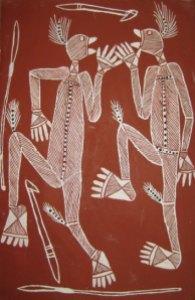 Art aborigène contemporain (Jimmy Namarnyilk)