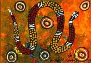 Le serpent arc-en-ciel