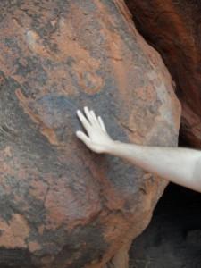Uluru de près
