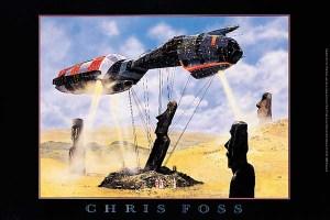 Easter_Island_poster_Chris_Foss