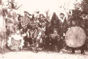 Guerriers Salish
