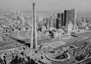 Construction de la tour CN