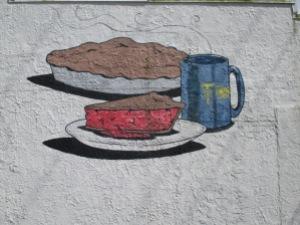 Fresque sur le côté