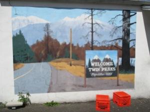 North Bend Street Art (fresque derrière le Twede's)
