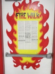 """Sortie de secours intitulée """"Fire Walk"""", référence à """"Fire Walk With Me"""""""