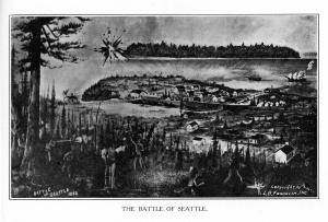 La bataille de Seattle (1856)