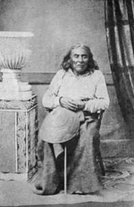 Seule phooto connue de Si'ahl (1864)