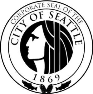 Le sceau de la ville de Seattle