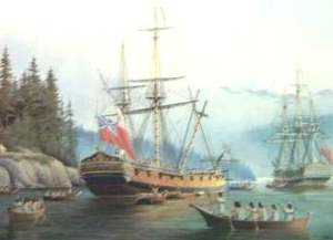 HMS Discovery et Chatham