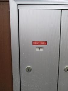 La boîte aux lettres de Mme Madrigal.